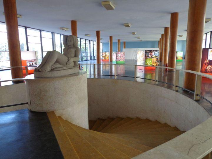 Edif cio gustavo capanema a modernidade chegando ao for Interior sinonimos